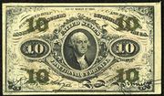 1863 3rd Issue 10 Cent Note