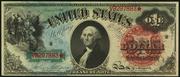 1869 $1 Legal Tender Red Seal