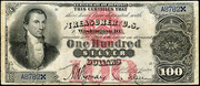 1878 $100 Silver Certificates Red Seal
