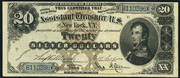 1880 $20 Silver Certificates Brown Seal