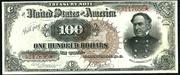 1890 $100 Treasury Note Brown Seal