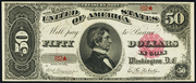 1891 $50 Treasury Note Red Seal