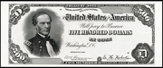 1891 $500 Treasury Note Red Seal