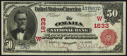 1902 $50 National Bank Notes Red Seal