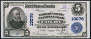 1902 $5 National Bank Notes Blue Seal