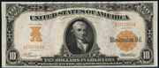1907 $10 Gold Certificate Gold Seal
