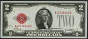 1928 $2 Legal Tender Red Seal