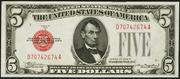 1928B $5 Legal Tender Red Seal