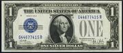 1928B $1 Silver Certificates Blue Seal