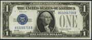 1928C $1 Silver Certificates Blue Seal