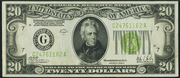 1928C $20 Federal Reserve Note Green Seal
