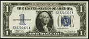 1934 $1 Silver Certificates Blue Seal