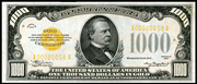 1934 $1000 Gold Certificate Gold Seal
