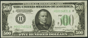 1934A $500 Federal Reserve Note Green Seal