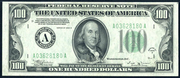1934B $100 Federal Reserve Note Green Seal