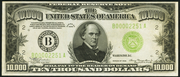 1934B $10000 Federal Reserve Note Green Seal