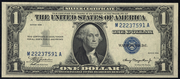 1935 $1 Silver Certificates Blue Seal