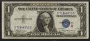 1935AR $1 Silver Certificates Blue Seal