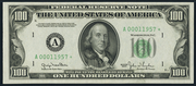 1950 $100 Federal Reserve Note Green Seal