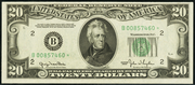 1950 $20 Federal Reserve Note Green Seal