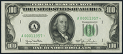 1950A $100 Federal Reserve Note Green Seal