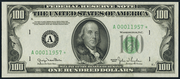 1950B $100 Federal Reserve Note Green Seal