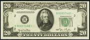 1950B $20 Federal Reserve Note Green Seal
