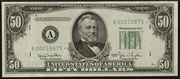 1950C $50 Federal Reserve Note Green Seal