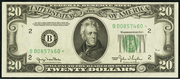 1950D $20 Federal Reserve Note Green Seal