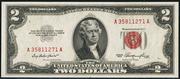 1953 $2 Legal Tender Red Seal
