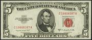 1953B $5 Legal Tender Red Seal