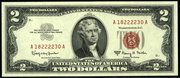 1963A $2 Legal Tender Red Seal