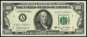 1969C $100 Federal Reserve Note Green Seal
