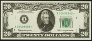 1981 $20 Federal Reserve Note Green Seal