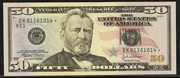 2004A $50 Federal Reserve Note Green Seal