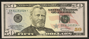 2006 $50 Federal Reserve Note Green Seal