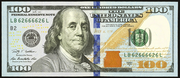 2009 $100 Federal Reserve Note Green Seal