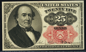1874 Fifth Issue 25 Cent Notes Fractional Currency