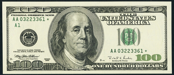 2006a One Hundred Dollar Federal Reserve Note