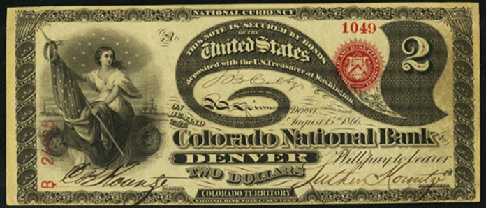 1863 $2 National Bank Notes Value – How much is 1863 $2 Bill Worth?