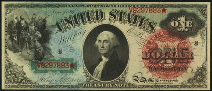 1869 $1 Legal Tender Value – How much is 1869 $1 Bill Worth?