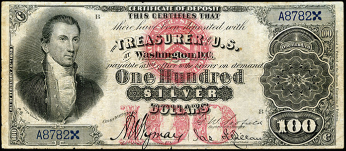 1878 $100 Silver Certificate Value – How much is 1878 $100 Bill Worth?