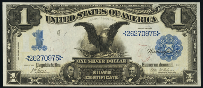 1899 $1 Silver Certificate Value – How much is 1899 $1 Bill Worth?