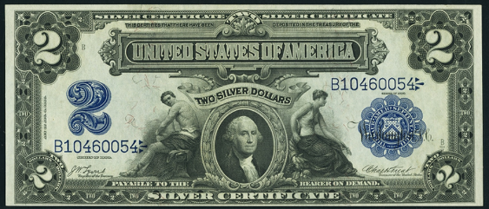 1899 $2 Silver Certificate Value – How much is 1899 $2 Bill Worth?