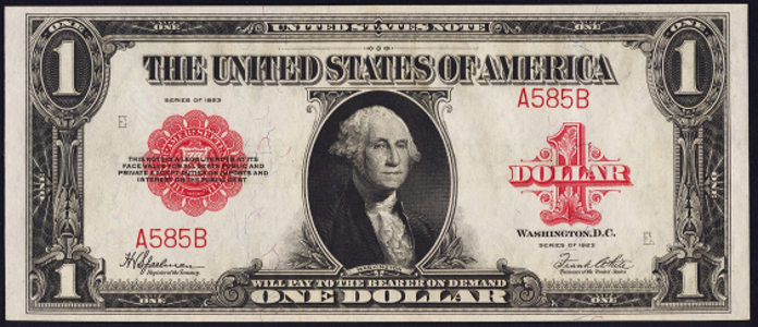 1923 $1 Legal Tender Value – How much is 1923 $1 Bill Worth?
