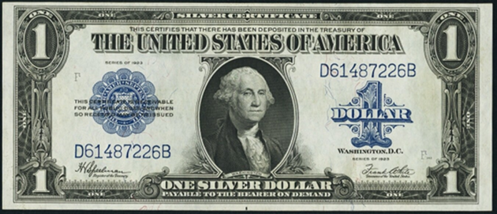 1923 $1 Silver Certificate Value – How much is 1923 $1 Bill Worth?