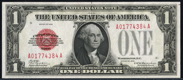 1928 $1 Legal Tender Value – How much is 1928 $1 Bill Worth?