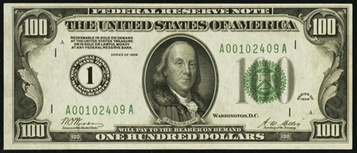 1928 $100 Federal Reserve Note Value – How much is 1928 $100 Bill Worth?