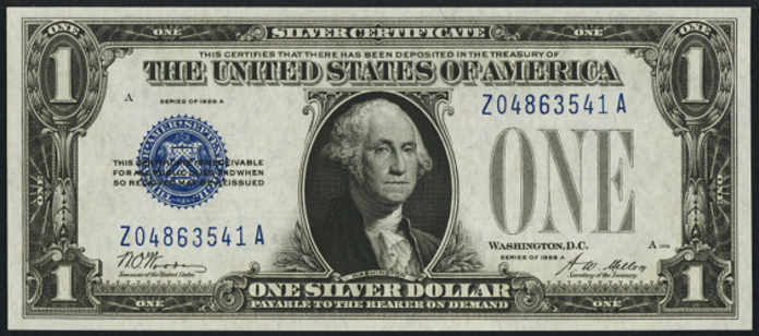 1928A $1 Silver Certificate Value – How much is 1928A $1 Bill Worth?