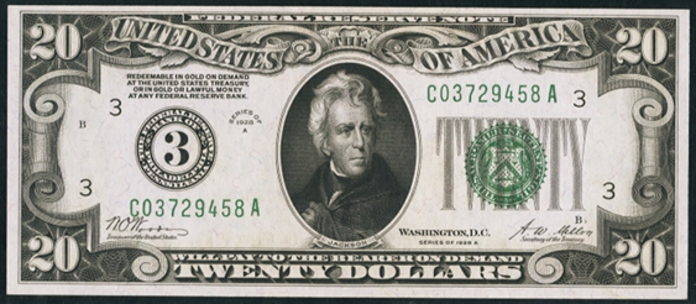 1928A $20 Federal Reserve Note Value – How much is 1928A $20 Bill Worth?